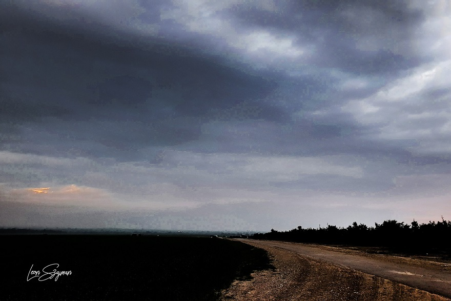 Amanecer en el Negev Israel