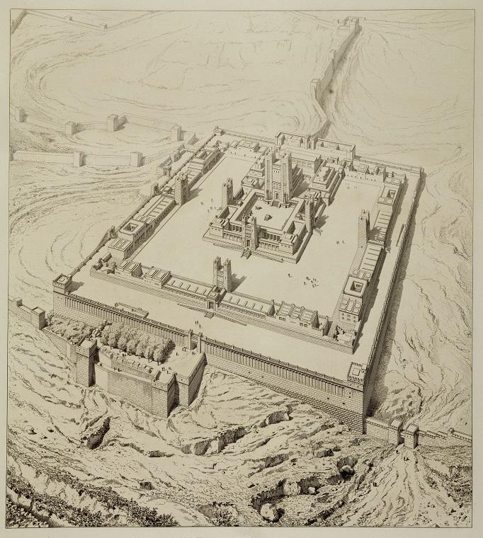 Primer Templo Jerusalén