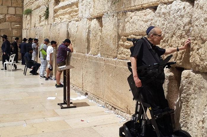 Visitando el Muro de los Lamentos con la UPnRIDE