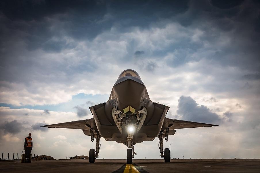 Un F-35I Adir de la Fuerza Aérea de Israel