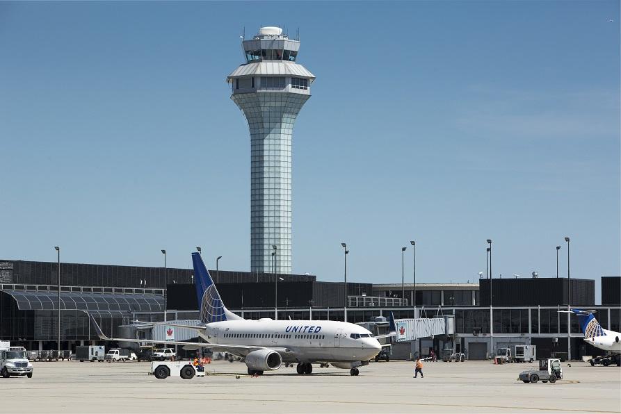 Una imagen del aeropuerto Chicago/O'Hare