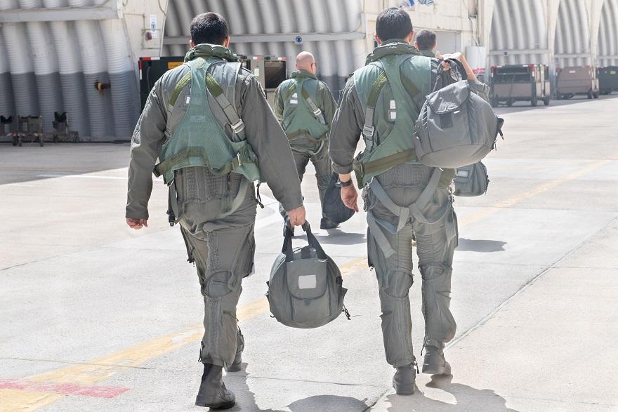 Un día en la vida de un escuadrón de combate de la Fuerza Aérea de Israel