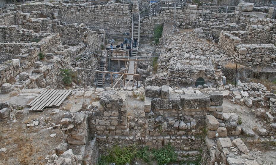 """La excavación en el """"Estacionamiento de Givati"""""""