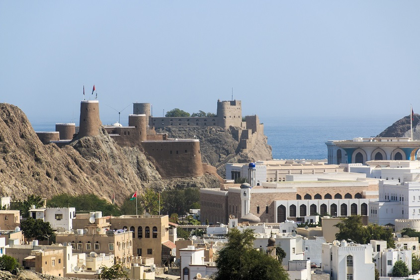 Una postal de Muscat, la capital de Oman