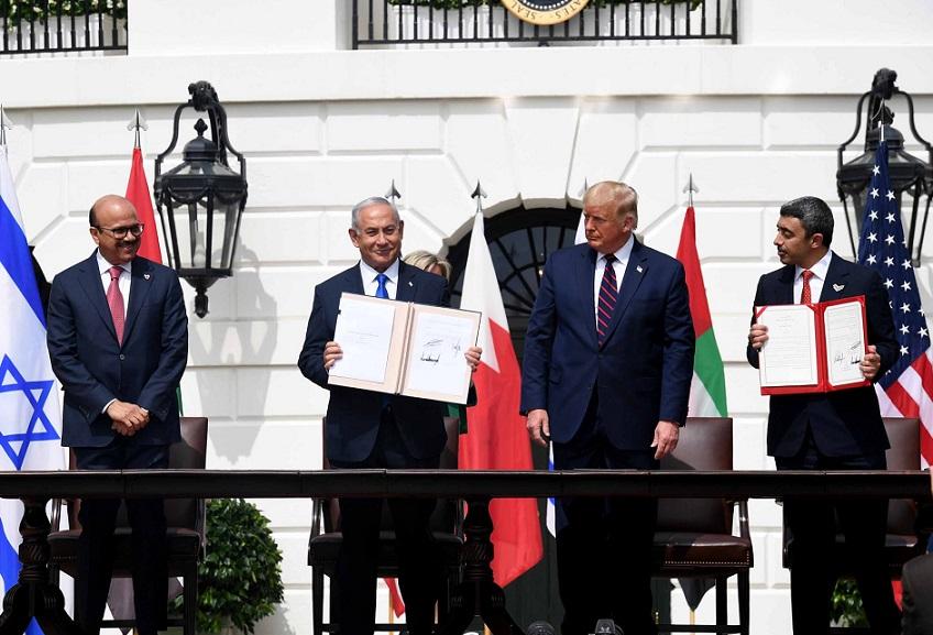 Acuerdos firmados en la Casa Blanca