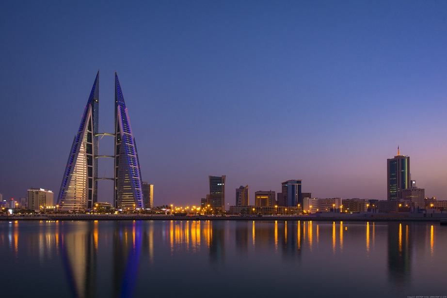 Una postal de Manama, la capital de Bahrein