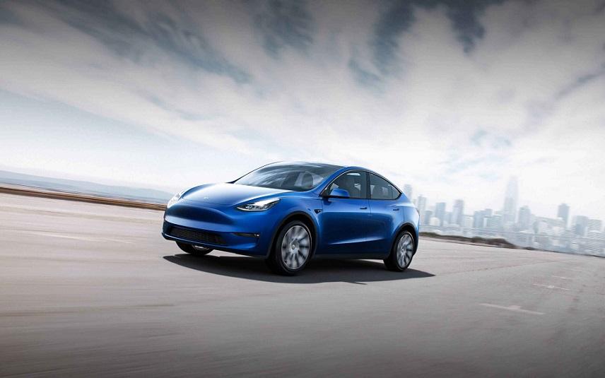 El modelo Y de la serie de vehículos eléctricos de Tesla