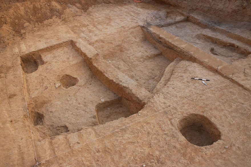 Excavación arqueológica en Beer Sheva