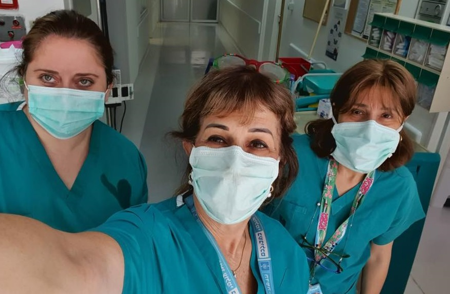 Enfermeras israelíes