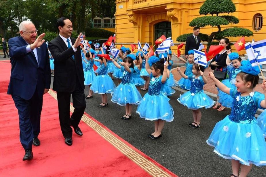 Presidente Rivlin en Vietnam