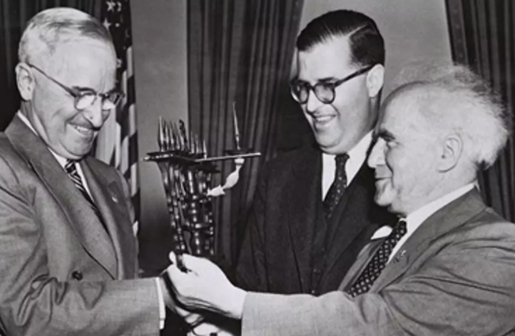 Ben Gurion y Truman