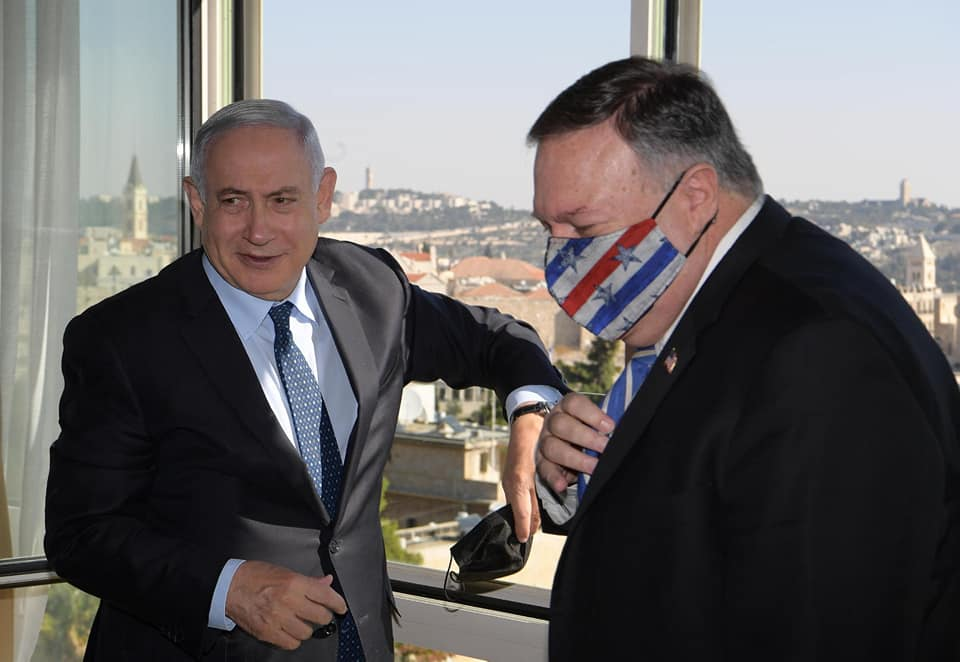 Netanyahu y Pompeo